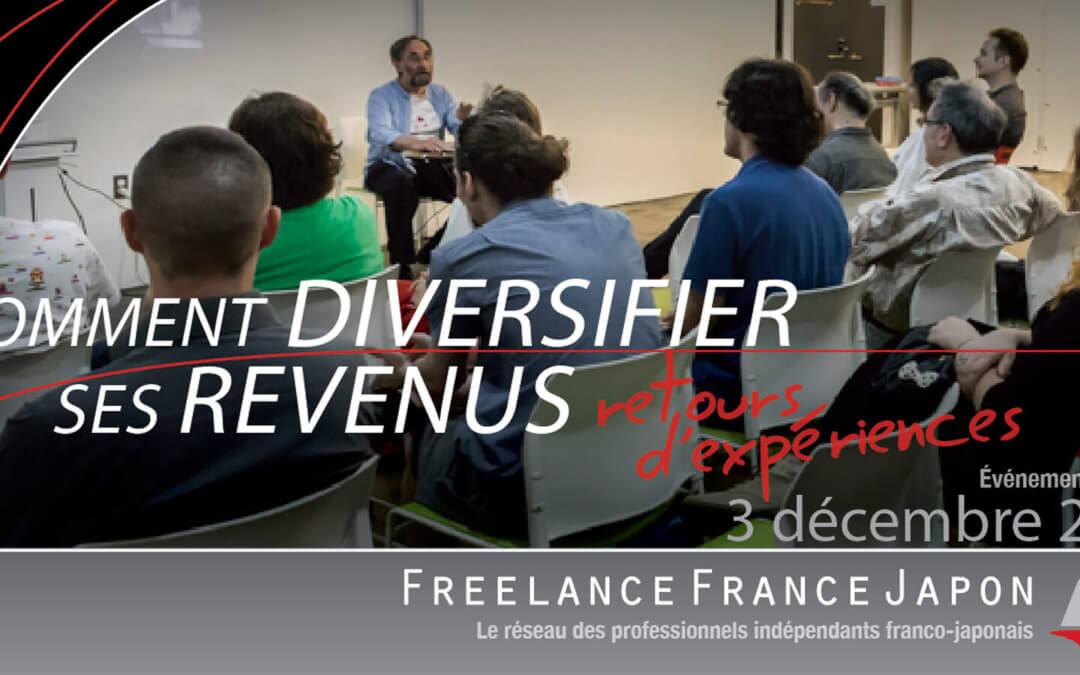 Travailleurs indépendants: comment diversifier ses revenus ? – retours d'expériences